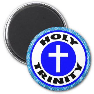 Holy Trinity 2 Inch Round Magnet
