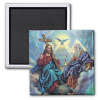 Holy Trinity 2 Inch Square Magnet