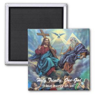 Holy Trinity, One God Magnet
