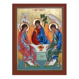 Holy Trinity Prayer Card Postcard