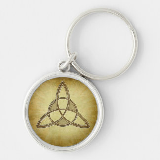 Holy Trinity Symbol Design Keychain