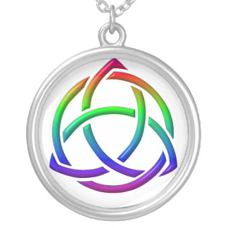 Holy Trinity & Unity Sterling Silver Necklace