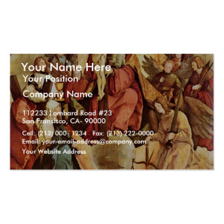 Holy Trinity With Angels, Saints, And Its Founding Business Cards
