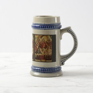 Holy Trinity With Angels Saints And Its Founding Coffee Mugs