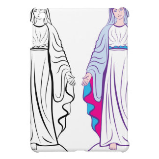 Holy Virgin Godmother vector iPad Mini Cases