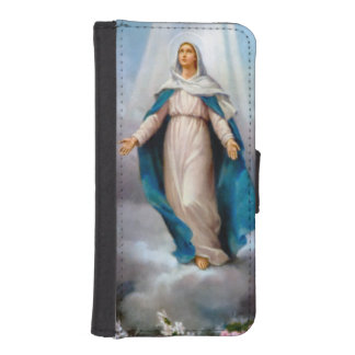 Holy virgin, saint Mary,mother of God, immaculate iPhone 5 Wallets