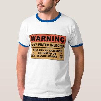 Holy Water Warning T-Shirt