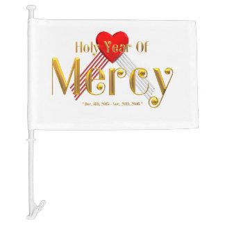 Holy Year of Mercy Car Flag