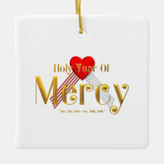 Holy Year of Mercy Ceramic Ornament