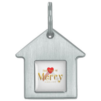 Holy Year of Mercy Pet Name Tag