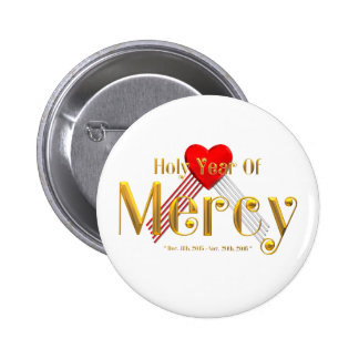 Holy Year of Mercy Pinback Button