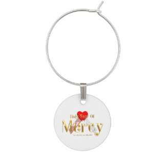 Holy Year of Mercy Wine Glass Charm