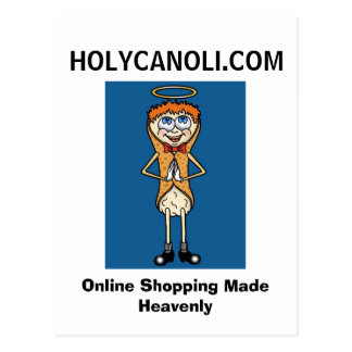 HOLYCANOLI.COM POSTCARD