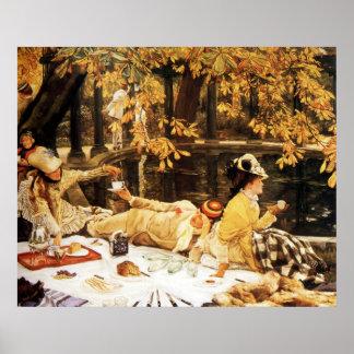 Holyday ~ James Tissot ~ Fine Art Canvas Print