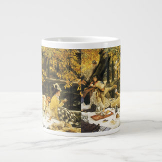 Holyday (The Picnic) by James Tissot Victorian Art Giant Coffee Mug