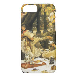 Holyday, the Picnic by James Tissot, Victorian Art iPhone 8/7 Case