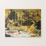 Holyday (The Picnic) by James Tissot Victorian Art Jigsaw Puzzle