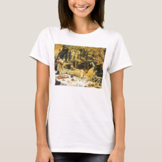 Holyday, the Picnic by James Tissot, Victorian Art T-Shirt