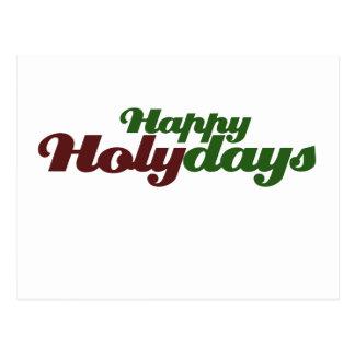 HOLYdays feliz celebra a Jesús Tarjeta Postal