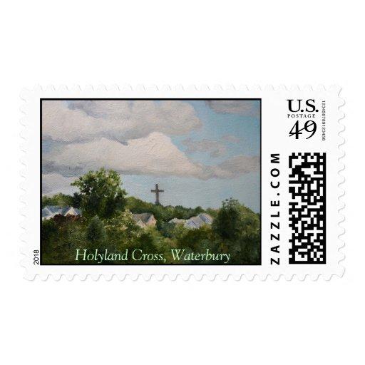 Holyland Cross, Waterbury Stamp