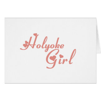 Holyoke Girl tee shirts Greeting Card