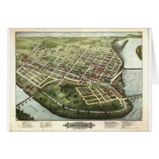 Holyoke, Massachusetts in 1877 Card