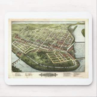 Holyoke, Massachusetts in 1877 Mouse Pad