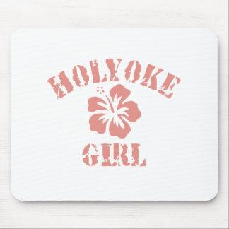 Holyoke Pink Girl Mouse Pad