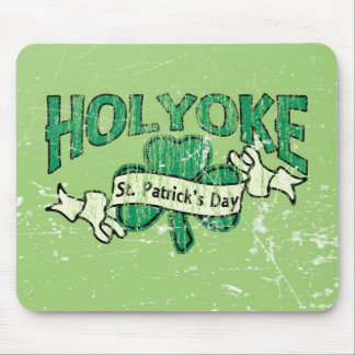 Holyoke St. Patrick's Day Vintage Retro Mouse Pad