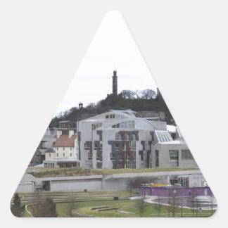 holyrood triangle sticker