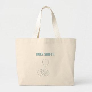 Holyshift ! large tote bag