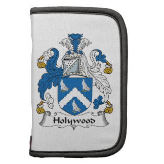 Holywood Family Crest Folio Planner