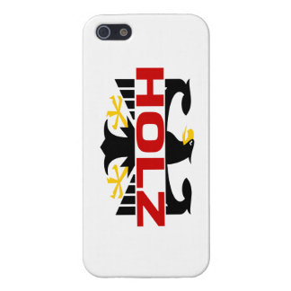 Holz Surname Case For iPhone 5