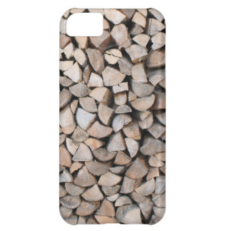 Holzstapel iPhone 5C Covers