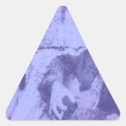 Hom Grown Bluegrass Triangle Sticker