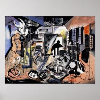 Homage Cubism POSTER / DESIGN by VinnyFish