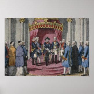 Homage of the Silesian Estates, 7 November 1741 Poster