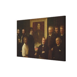 Homage to Delacroix, 1864 Gallery Wrapped Canvas