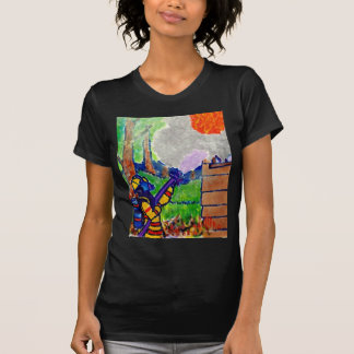 Homage to Firefighters by Piliero T-Shirt