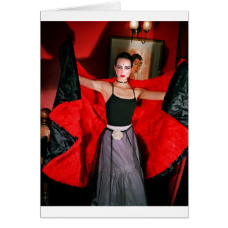 Homage to Josephine Baker 2 (Vampire Ballerina) Card