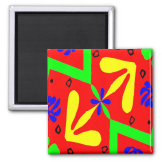 Homage To Matisse Designs Magnet