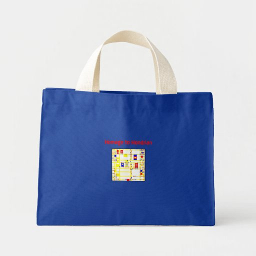 Homage to Mondrian Bags