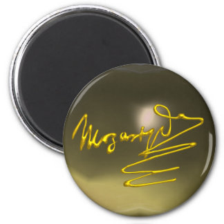 HOMAGE TO MOZART,grey agate Magnet