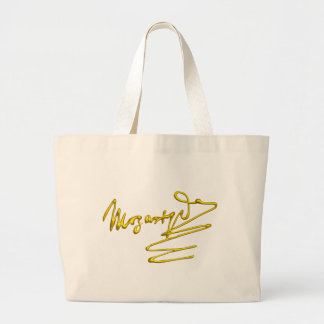 HOMAGE TO MOZART LARGE TOTE BAG