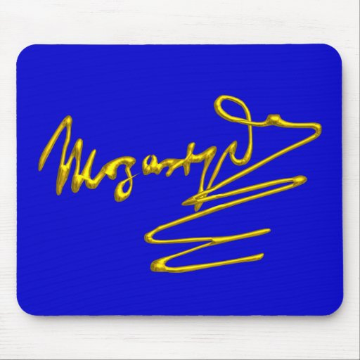 HOMAGE TO MOZART MOUSE PAD