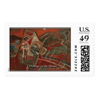 homage to the mistro stamps