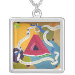Homage to the Prayer Triangle CHARM NECKLACE