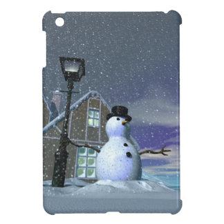 Hombre 2 de la nieve iPad mini cobertura