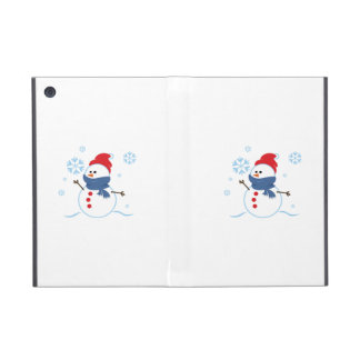 Hombre 3 de la nieve iPad mini funda