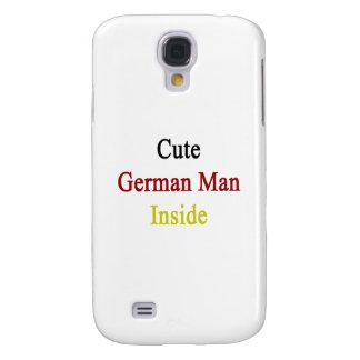 Hombre alemán lindo dentro funda para galaxy s4